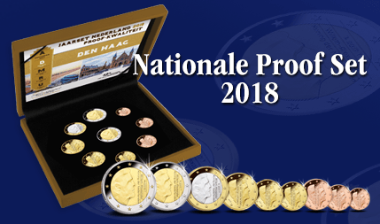 Nationale Proof Set 2018 kan direct worden geleverd